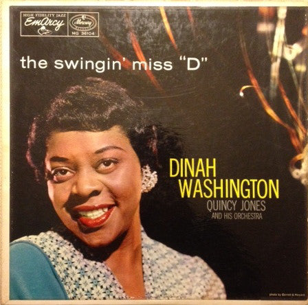 Dinah Washington - The Swingin' Miss