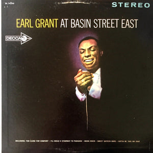 Earl Grant - Earl Grant At Basin Street East