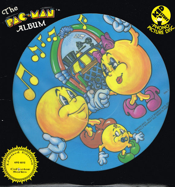 Patrick McBride - The Pac Man Album