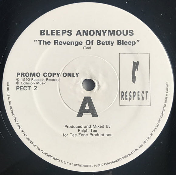 Bleeps Anonymous - The Revenge Of Betty Bleep