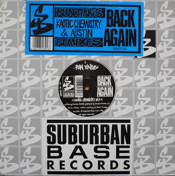 Run Tings - Back Again (Remixes)
