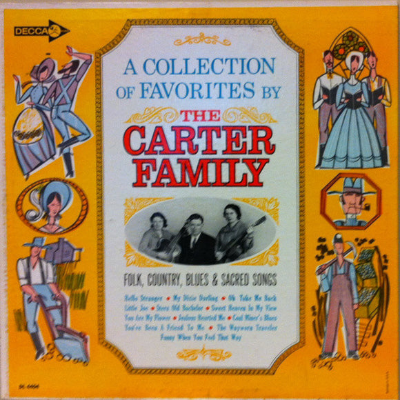 The Carter Family - A Collection Of Favorites