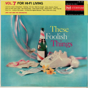 Jack Say - These Foolish Things - Vol. 7