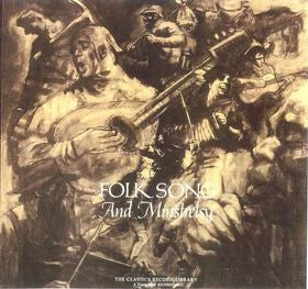 Various - Folk Song And Minstrelsy