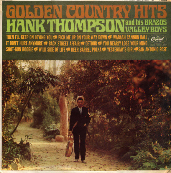 Hank Thompson - Golden Country Hits