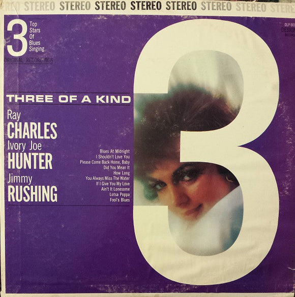 Various - Three Of A Kind, Blues Singers