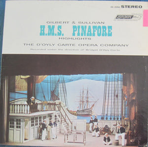 D'Oyly Carte - H.M.S. Pinafore Highlights