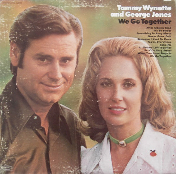 Tammy Wynette and George Jones - We Go Together