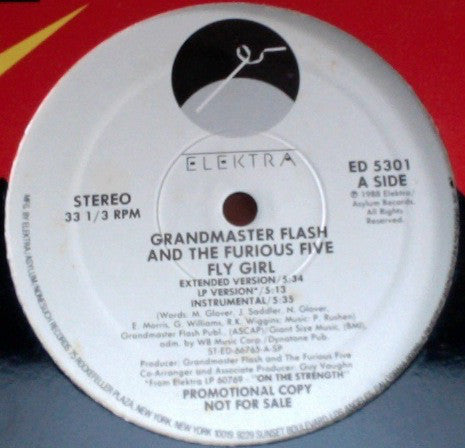 Grandmaster Flash & The Furious Five - Fly Girl