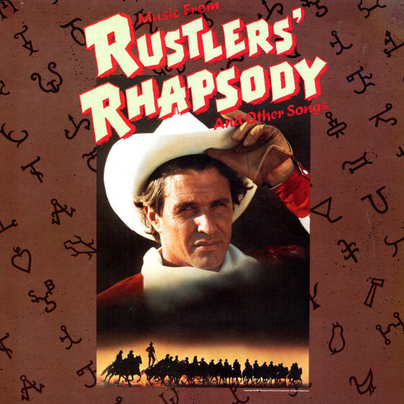 Various - Music From Rustlers' Rhapsody And Other Songs
