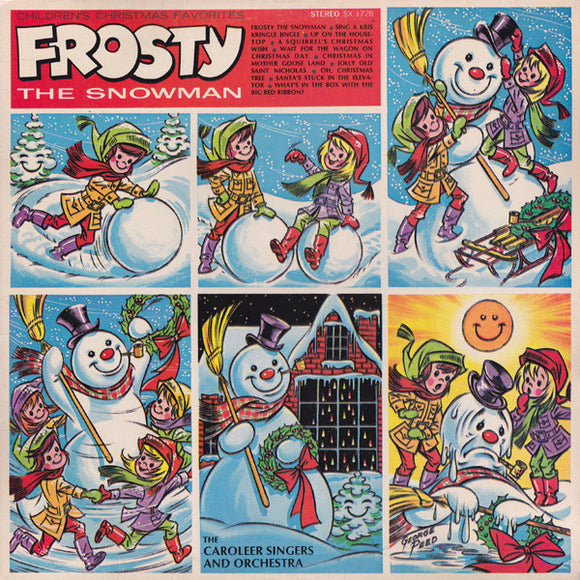 The Caroleers - Children's Christmas Favorites: Frosty The Snowman