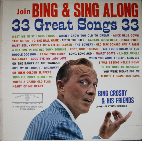 Bing Crosby - Join Bing & Sing Along