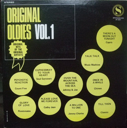 Various - Original Oldies Vol. 1
