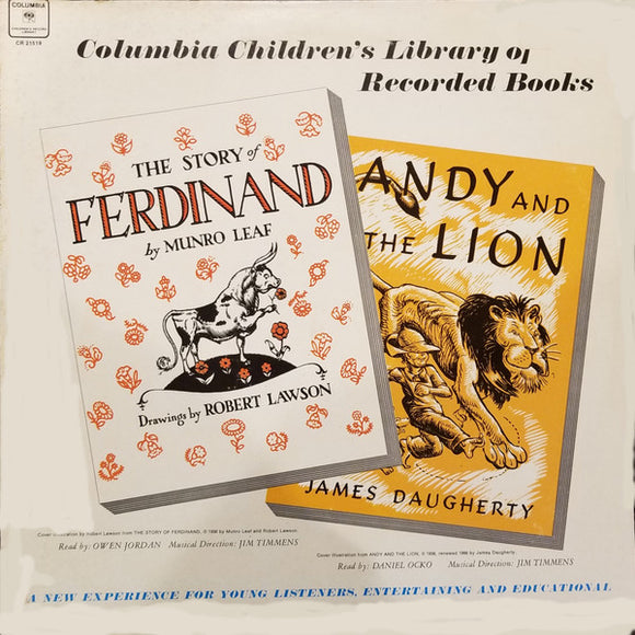 Various - The Story Of Ferdinand / Andy And The Lion