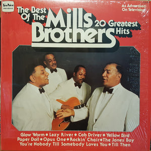 The Mills Brothers - The Best Of The Mills Brothers: 20 Greatest Hits