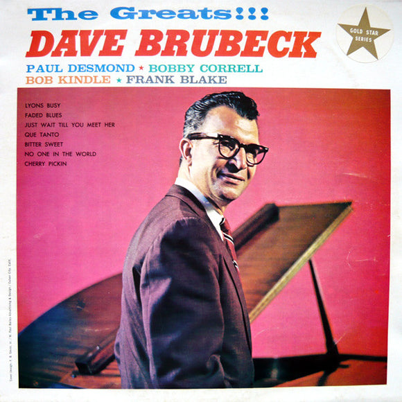 Dave Brubeck - The Greats!!!