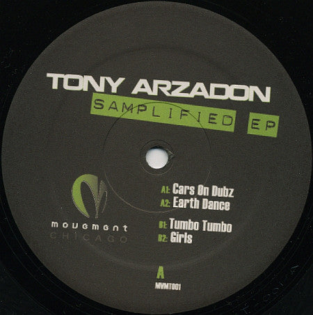 Tony Arzadon - Samplified EP