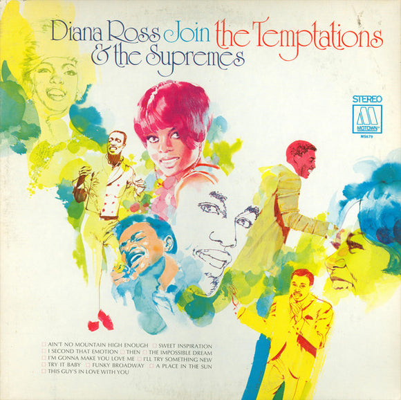 The Supremes - Diana Ross & The Supremes Join The Temptations