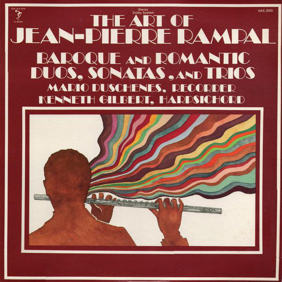 Jean-Pierre Rampal - The Art Of Jean-Pierre Rampal (Baroque And Romantic Duos, Sonatas, And Trios)