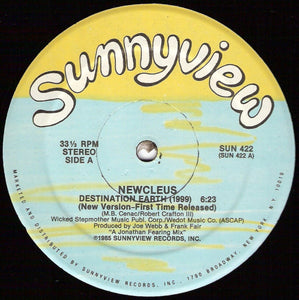 Newcleus - Destination Earth (1999)