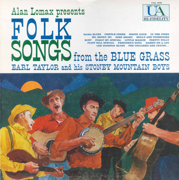 Earl Taylor - Folk Songs From The Blue Grass