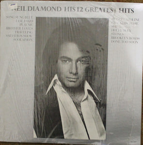 Neil Diamond - His 12 Greatest Hits