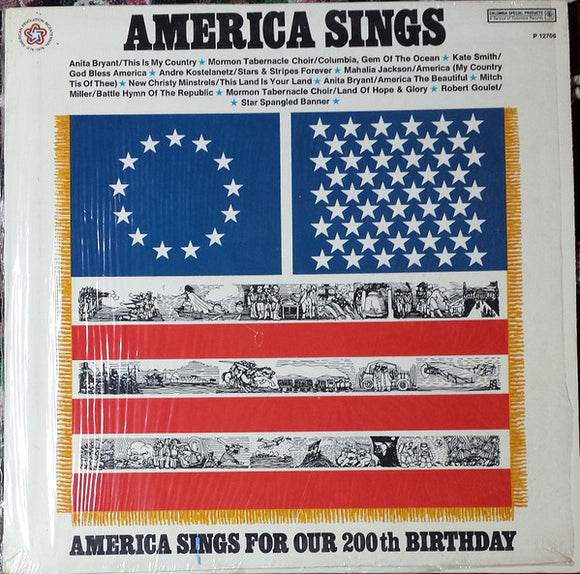 Various - America Sings For Our 200th Birthday