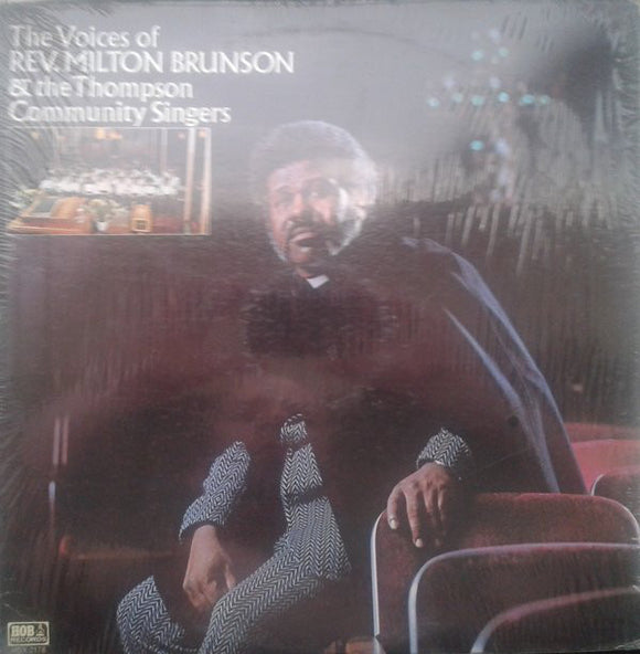 Rev. Milton Brunson - He's Able To Carry You Through