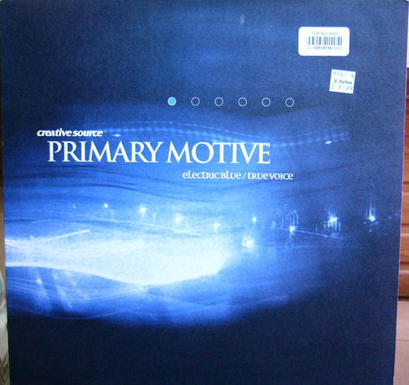 Primary Motive - Electric Blue / True Voice