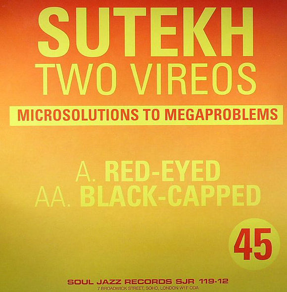 Sutekh - Two Vireos