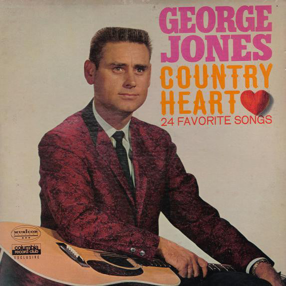 George Jones - Country Heart