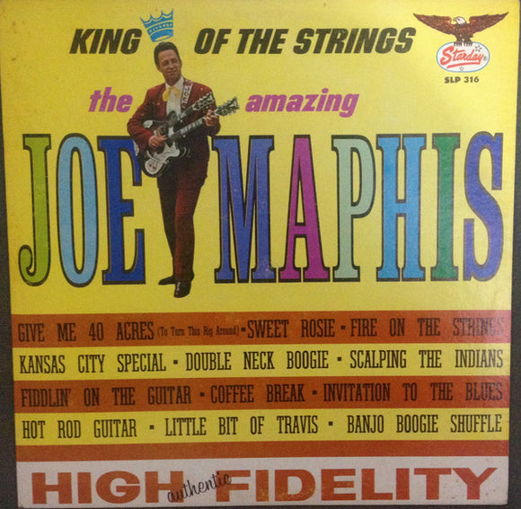 The Amazing Joe Maphis - King of the Strings
