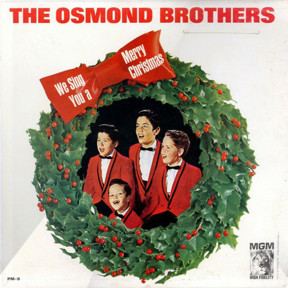 The Osmonds - We Sing You A Merry Christmas