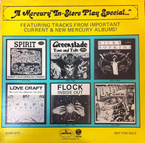 Various - A Mercury In-Store Play Special