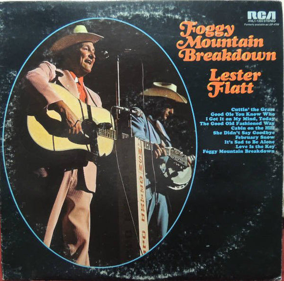 Lester Flatt - Foggy Mountain Breakdown