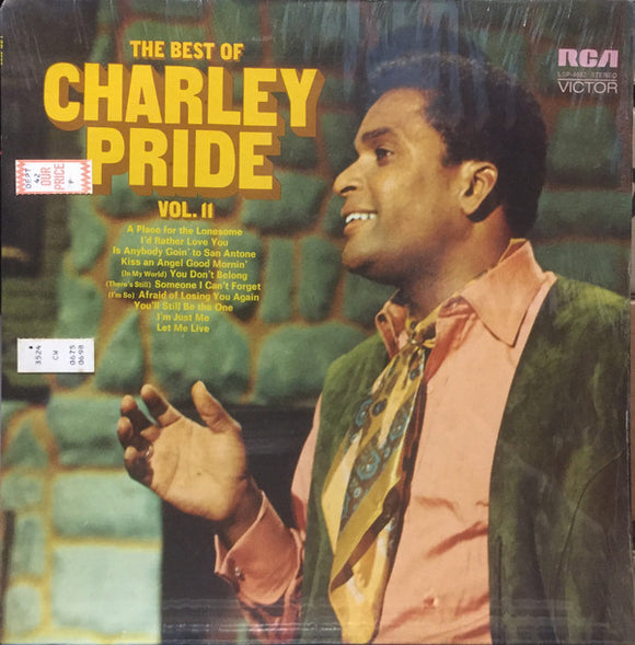 Charley Pride - The Best Of Charley Pride Vol. II