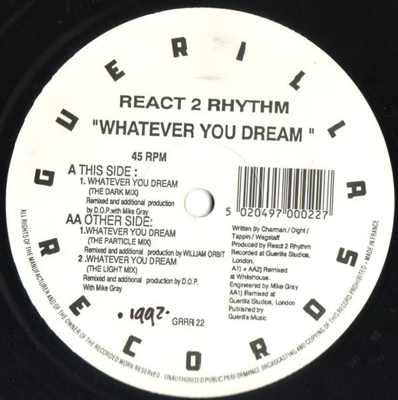 React 2 Rhythm - Whatever You Dream