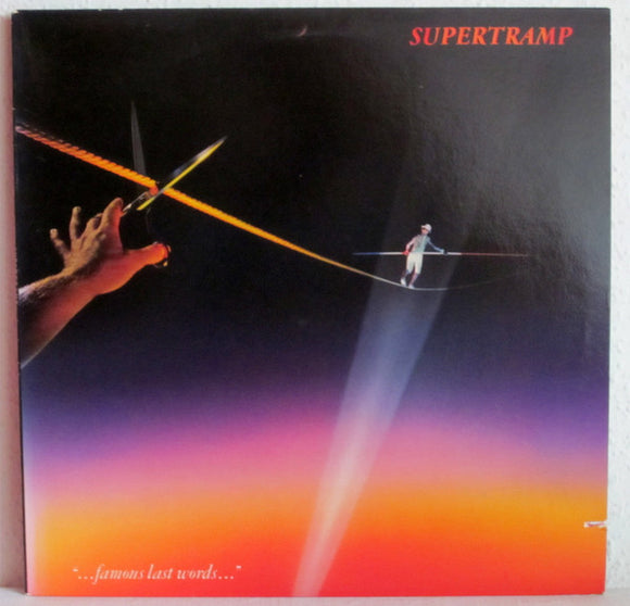 Supertramp - Famous Last Words