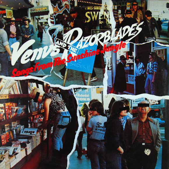 Venus & The Razorblades - Songs From The Sunshine Jungle