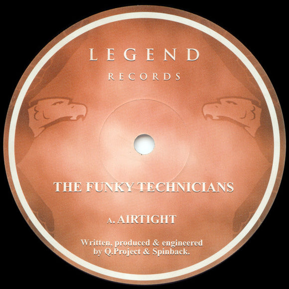 Funky Technicians - Airtight / No Mystery