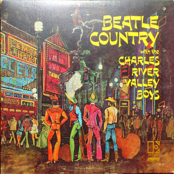 Charles River Valley Boys - Beatle Country