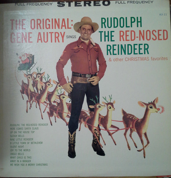 Gene Autry - Rudolph The Red Nose Reindeer