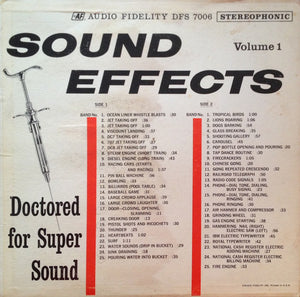 Unknown Artist - Sound Effects Volume 1