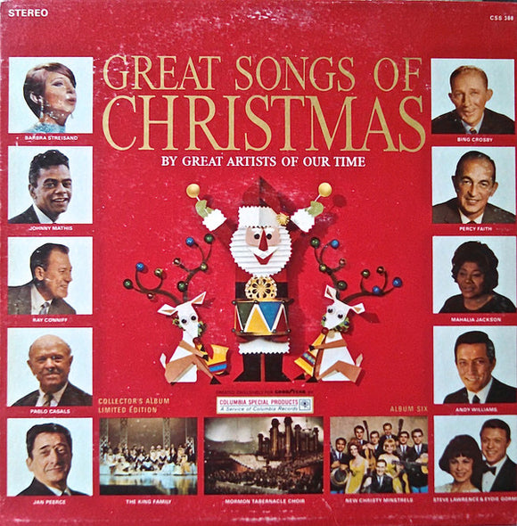 Various - The Great Songs Of Christmas Album Six