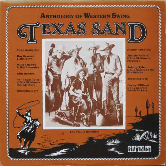 Various - Texas Sand: Anthology Of Western Swing