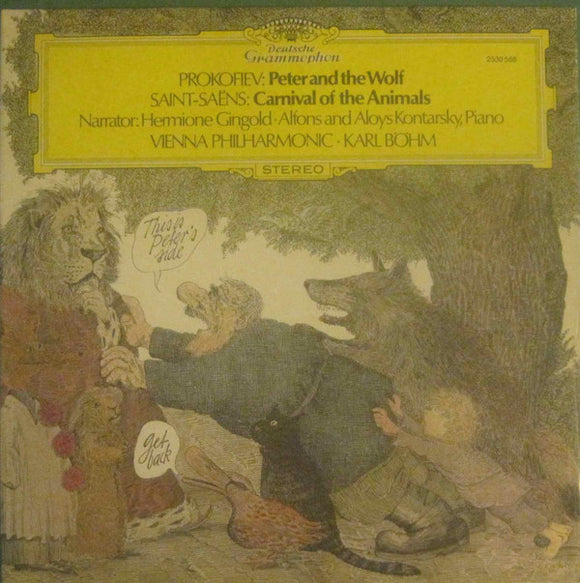 Sergei Prokofiev - Peter And The Wolf / Carnival Of The Animals