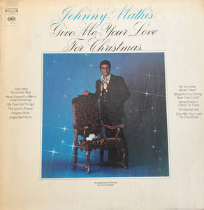 Johnny Mathis - Give Me Your Love For Christmas