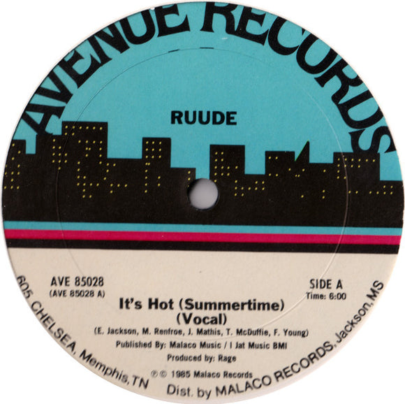 Ruude - It's Hot (Summertime)