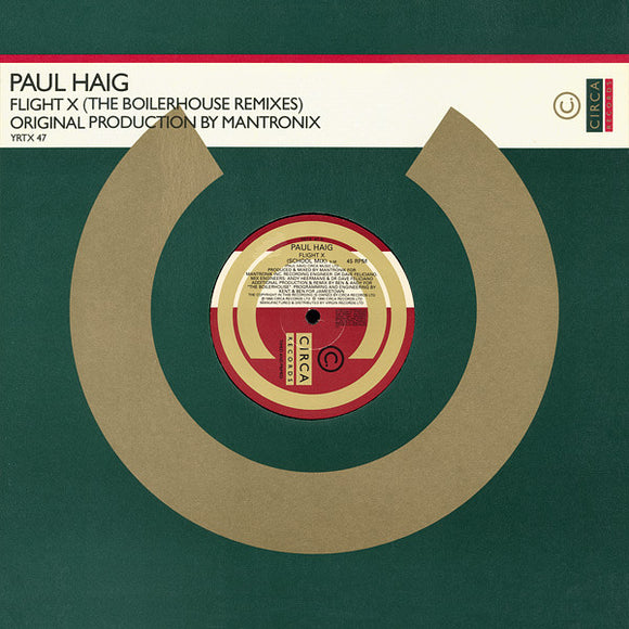 Paul Haig - Flight X (The Boilerhouse Remixes)