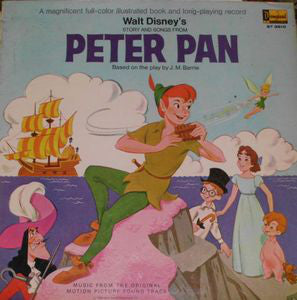 Walt Disney - Story And Songs From Peter Pan